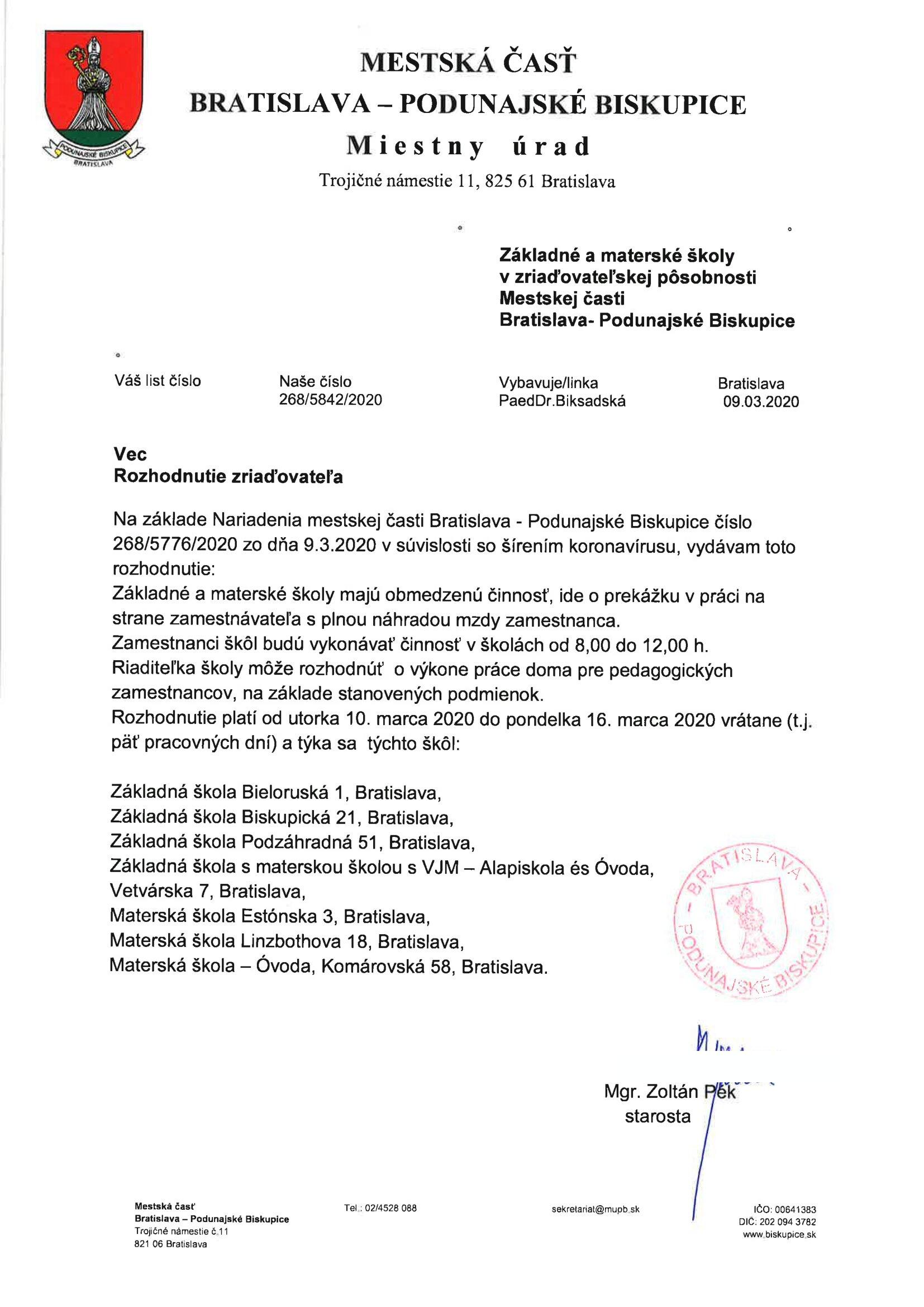 Rozhodnutie-zriaďovateľa-o-obmedzení-činnosti-na-pracoviskách-MČ-Podunajské-Biskupice_09032020